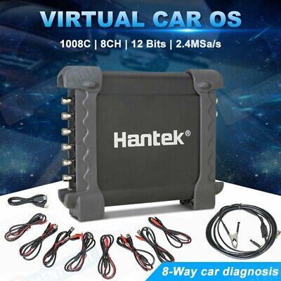 Us Plug Hantek 1008c 8ch Pc Usb Automotive Diagnostic Digital Oscilloscope Daq