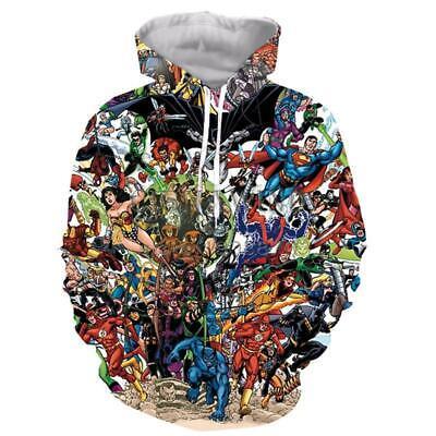 Women Super Heros (comics super heros 3D print Hoodie Men Women Casual Sweatshirt Pullovers)