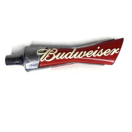 """Budweiser Bowtie Logo Beer Tap Handle Bar Keg 13"""" Tall"""