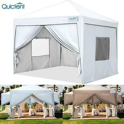 Quictent Outdoor Shelter Ez Pop Up Canopy Party Commercial F