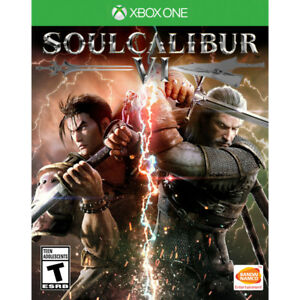 Soul Calibur VI Xbox One BRAND NEW