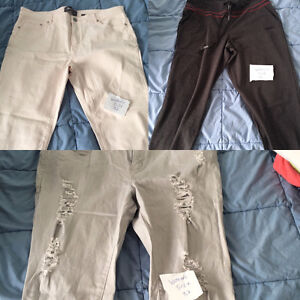 Multiple Men's and Women's clothing