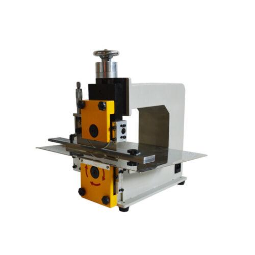 PCB Separator V-Cut PCB Separating Machine 110V with 240mm/9.4in Cutting Width f