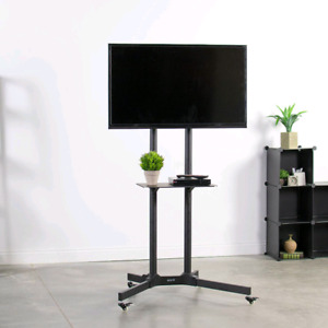 """VIVO TV Cart for Flat Panel Stand 32"""" - 65"""" TV Stand"""