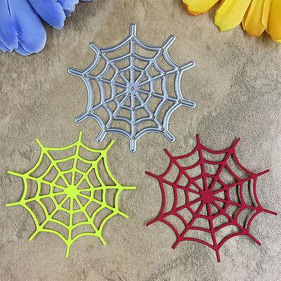 Spider Net Mesh Cutting Dies Stencils DIY Scrapbooking Paper Card Decor Crafts Spider Net