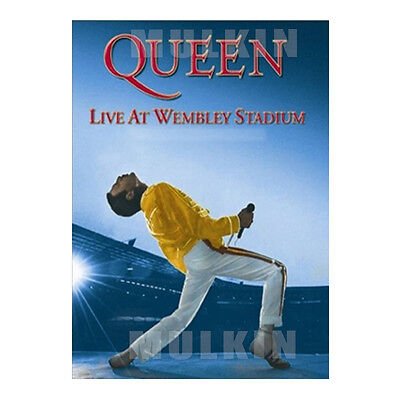 QUEEN - Live At Wembley Stadium (1986) dts / DVD - (*New *Sealed *All Region)