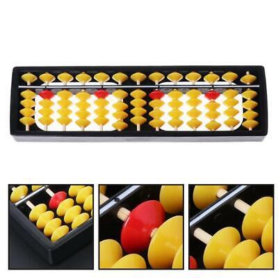 Abacus Soroban Beads Column Kid School Tools Learning Educational Math Toys