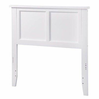 Atlantic Furniture Madison Panel Headboard in White-Twin