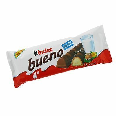 Kinder Bueno Chocolate 2 Bar Pack x 30 Packs