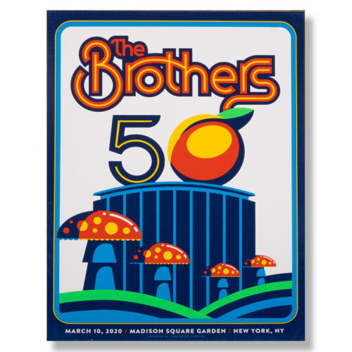 THE BROTHERS 50 – MADISON SQUARE GARDEN WHITE