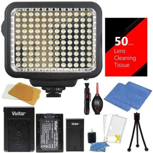 Vivitar Led Video Light Panel With 120 Led Dimmable For C...