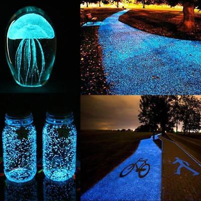 Glow Sand (Colorful Fluorescent Luminous Glowing Sand Stone In the Dark Aquarium Tank)