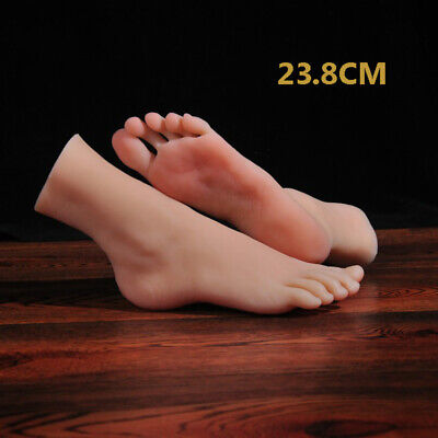 One Left Or Right Silicone Feet Female Legs Mannequin Display Model 39