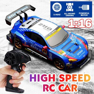 1:16 RC Drift Car 2.4Ghz High Speed Drift Racing Car Electric Gift for Kid+RC