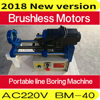 Portable Line Hole Boring Machine Electric Engineering Mechanical Bore Boring