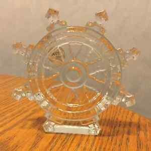 Waterford Crystal Ships Wheel St. John's Newfoundland image 1