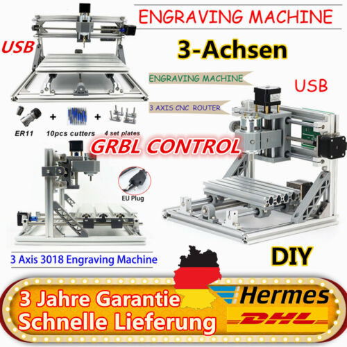 3 Achsen CNC Router 3018 Engraver CNC Fräsmaschine Gravur USB-Anschluss GRBL
