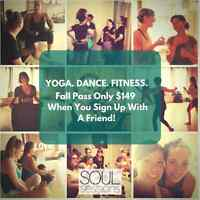 Fall Fitness Pass Only $149