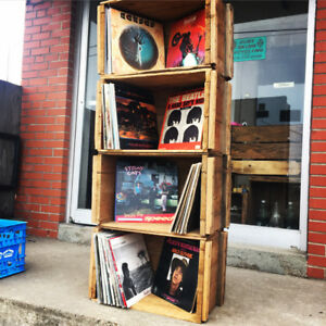 Vinyl Record Storage Crates for sale and Lps