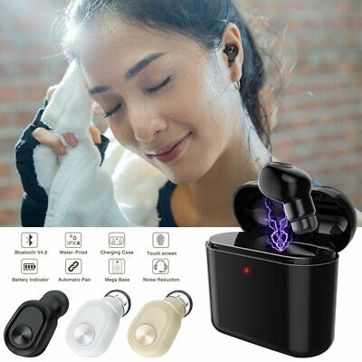 2019 Bluetooth Wireless Headphone Earbud Headset For Apple iPhone Airpods NEW