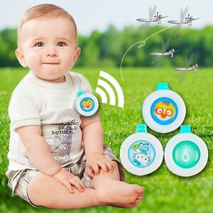1x Baby children kids Mosquito Repellent Clip Mosquito Repellent Badge Button