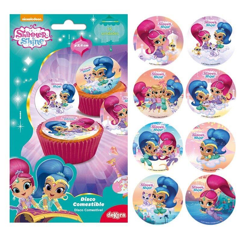 PJ MASKS Cupcake topper edible discs pack of 16