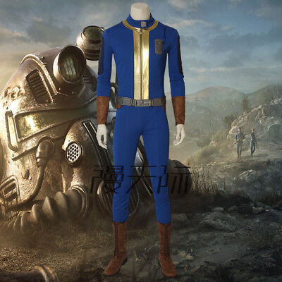 FALLOUT 76 Spiel Game Cosplay Kostüm Costume Outfit Halloween (Fallout Cosplay Kostüm)