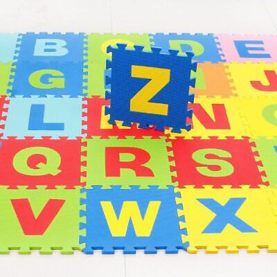 26Pcs Alphabet Numbers EVA Floor Play Mat Baby Room ABC Foam Puzzle Lot Kids