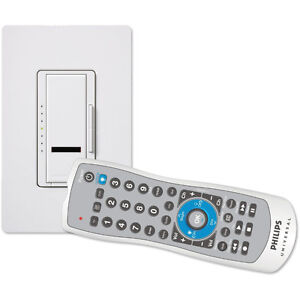 Entertainment remote - All in 1 plus light dimmer - Home theatre