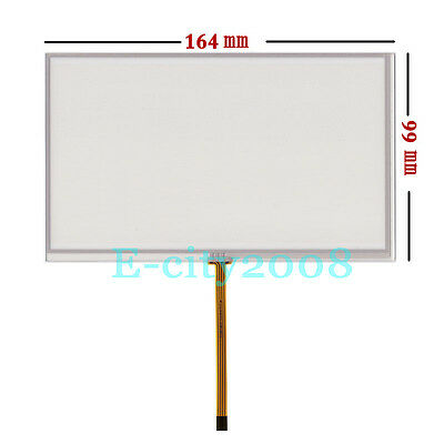 """7.0"""" 4Wire Resistive Touch screen Panel Digitizer Film 164*99mm DIY LCD Monitor"""