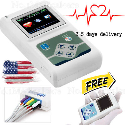 2018 Newest 12-channel Ecgekg Holter Systemrecorder Monitor Analyzer Software