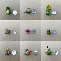 9pc Mini Cute Ghibli Totoro Doll Figurines For Miniature Garden Decoration - unbranded - ebay.co.uk