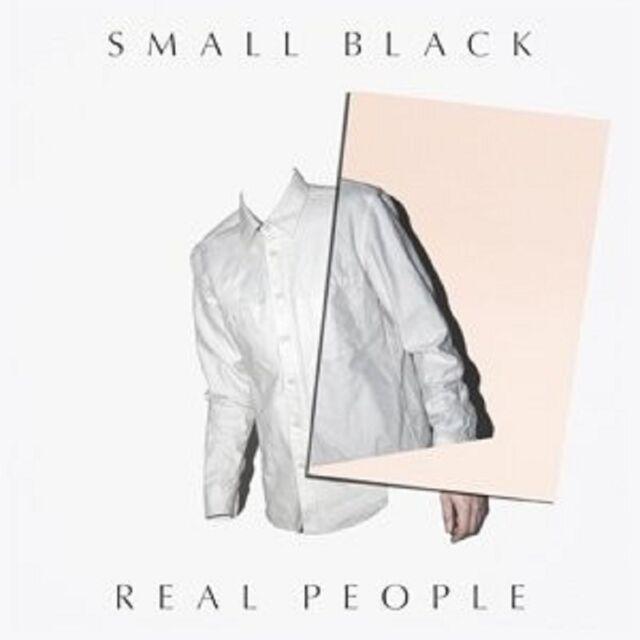 SMALL BLACK - REAL PEOPLE VINYL MAXI-SINGLE NEU