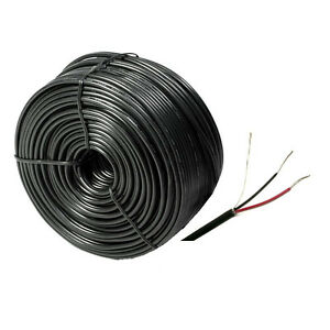 60ft feet RS485 Signal Transmission Cable for Control CCTV PTZ Security camera