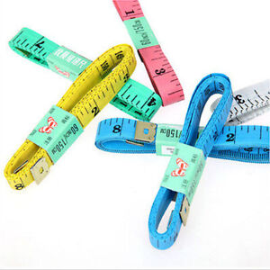 5X Body Measuring Ruler Sewing Cloth Tailor Tape Measure Soft Flat 60