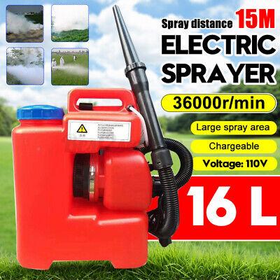 16L AC 110V 2600W Electric Fogger ULV Sprayer Mosquito Killer Farming