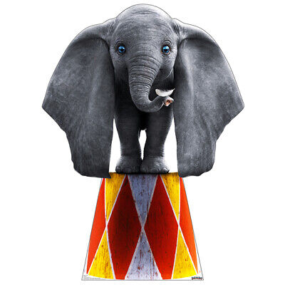 DUMBO 2019 Lifesize CARDBOARD CUTOUT Standup Standee Poster Disney Elephant F/S - Cardboard Cutouts