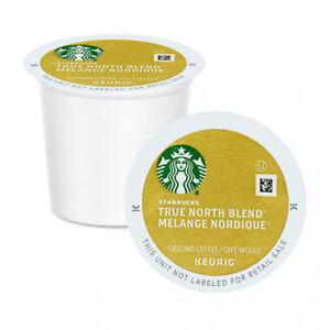 Starbucks True North K Cup Coffee. Light Roast. Case of 96