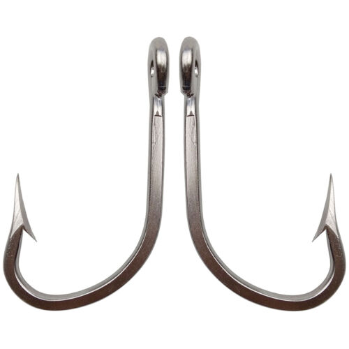Lot 7731 Stainless Steel Fishing Hooks Big Game Thick Tuna Saltwater Fish Hook