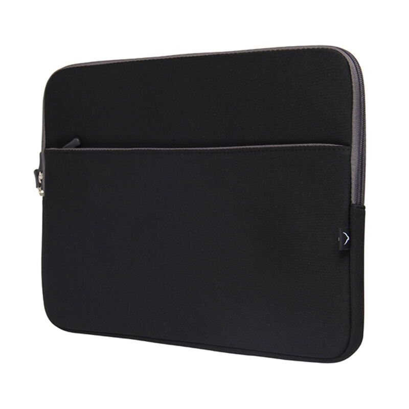 Black Portable Laptop Notebook Sleeve Case Cover For 15-15.6