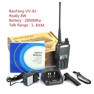baofeng brand new uv-82 8w walkie talkie $65/one