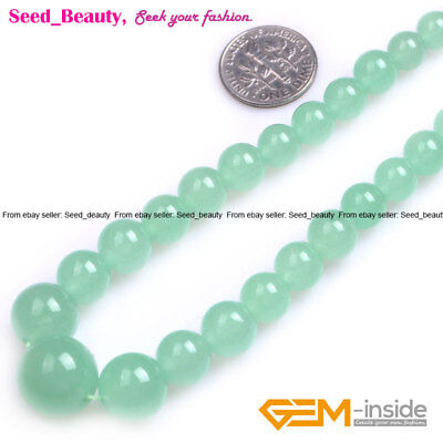 """6-14mm Graduated Assorted Gemstone Beads for Necklace Jewely Making Strand 15"""""""