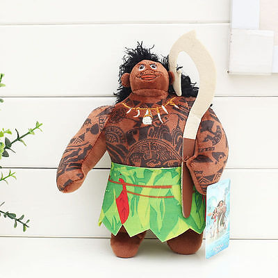 Maui Film Birthday Stuff Plush Toy Character 1pc/Set Disney Moana Doll Kid Gifts](Hello Kitty Birthday Stuff)