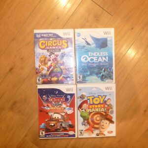 Funpack of Wii games for sale