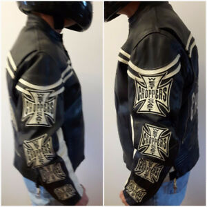 Westcoast Choppers Leather Jacket Jesse James Motorcycle Apparel