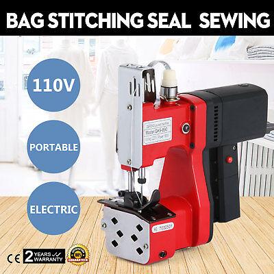 Electric Bag Sewing Machine Sealing Machines Sack Closer Tool Packaging Good