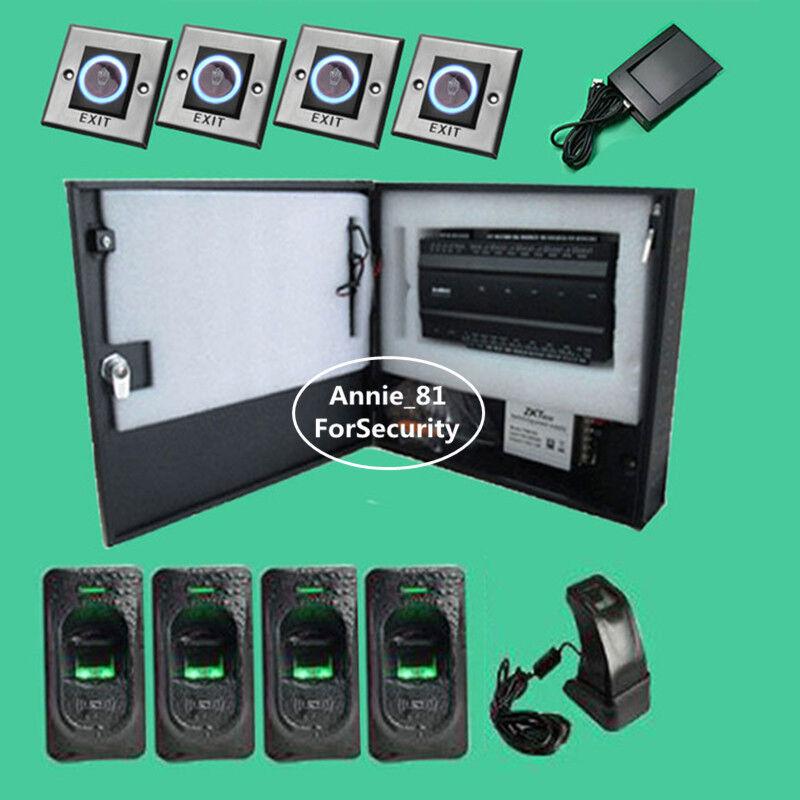 Zkteco INbio460 Access Control Board  Access Control kit with FR1200 Fingerprint