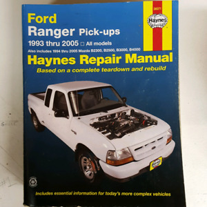 Ford Ranger Pickups 1993-2005 Haynes Manual