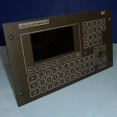Indramat Operator Interface Panel Sot02-e2a-fw No Back Cover Pzf