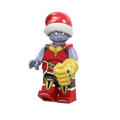 THANOS CHRISTMAS SANTA MARVEL COMICS MINIFIGURE FIGURE USA SELLER NEW IN PACKAGE